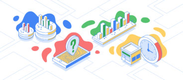 Illustrations depicting Google's online-to-offline attribution platform.